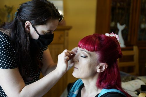 maquillage pinup mariage