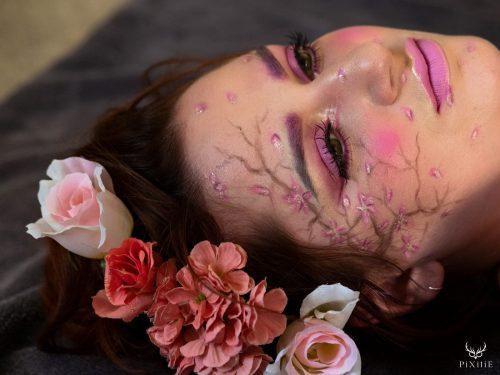 maquillage artistique Sakura