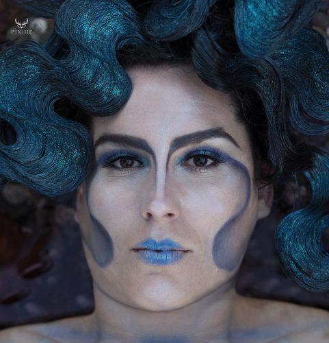 Maquillage artistique Dame du Lac