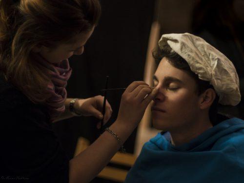 Maquillage cinéma, maquillage comédien