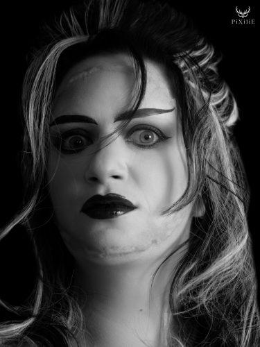 la fiancée de Frankenstein makeup