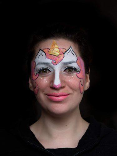 maquillage licorne