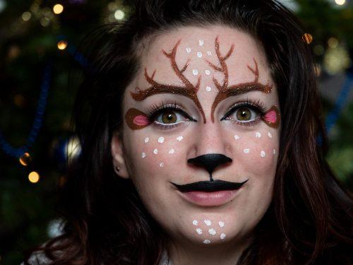 maquillage cerf maquillage enfant